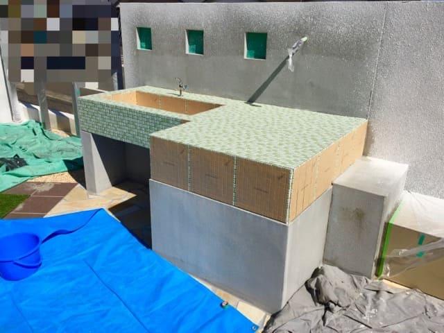 ガーデンシンク制作