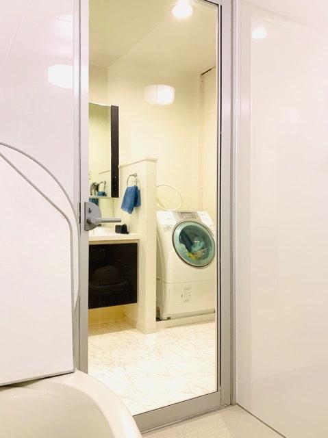 浴室 片開きドア