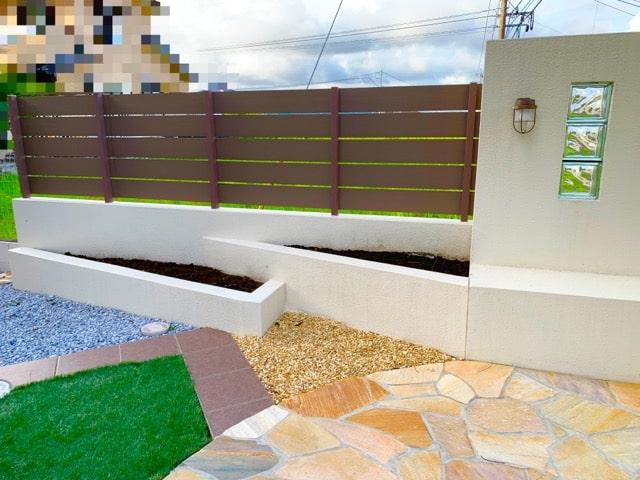 樹脂木製フェンス