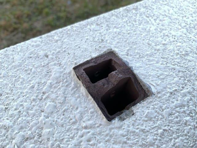 樹脂木製支柱 折れる